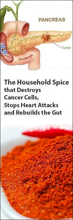 THE HOUSEHOLD SPICE THAT DESTROYS CANCER CELLS, STOPS HEART ATTACKS AND REBUILDS THE GUT – Gust Of Wind~