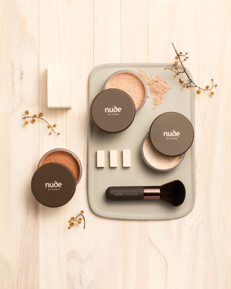 Mineral Powder Collection and Award Winning Mineral Brush www.nudebyature.com.au
