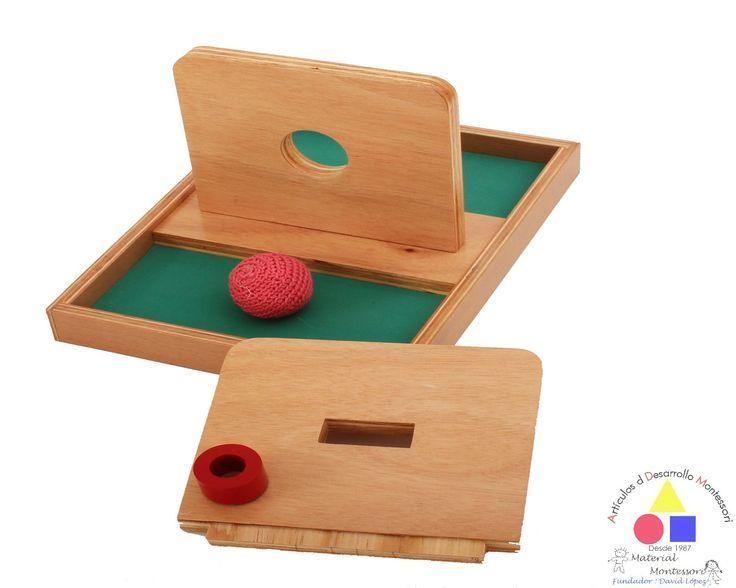 Charola para insertar pelota tejida y ficha  Comunidad Infantil