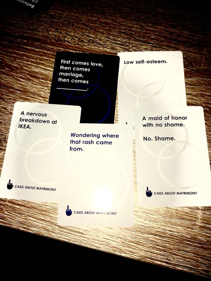Bachelorette Cottage Weekend Game Cads About Matrimony-hilarious wedding themed game!!!