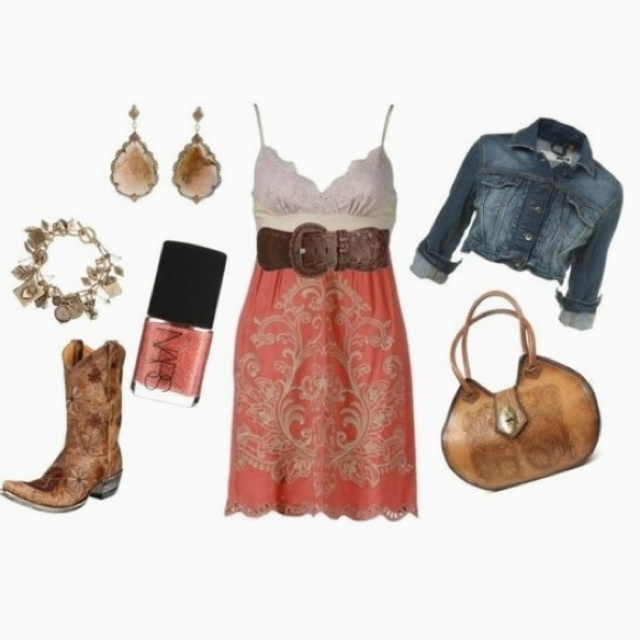 Adorable cowgirl outfit