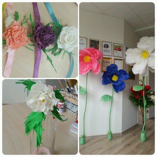 Декор детского праздника. Цветочный стиль.