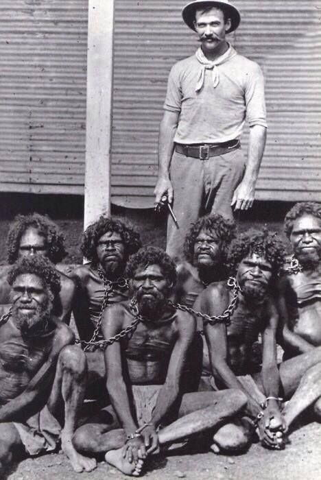 Australia, until 1960s, Aborigines came under the Flora And Fauna Act, classified them as animals, not human beings.: