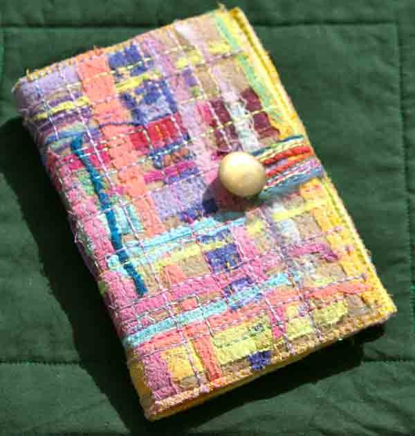 Fabric Book Covers Make Your Own ~ Best art journaling fabric images on pinterest