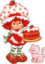 I had a Strawberry Shortcake themed birthday in kindergarten. My girls now have the doll and kitchen set I got as gifts that year.