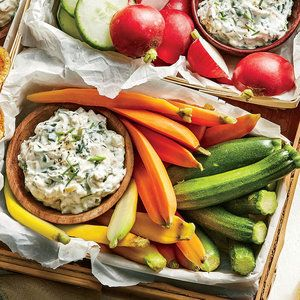 Spinach-and-Vidalia Dip | MyRecipes.com Sweet Vidalia onions add an unexpected twist to the creamy, crowd-pleasing spinach dip.