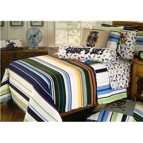 Boy teen surfing bedding