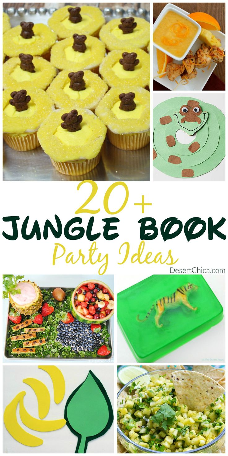 More than 20 Jungle Book party Ideas
