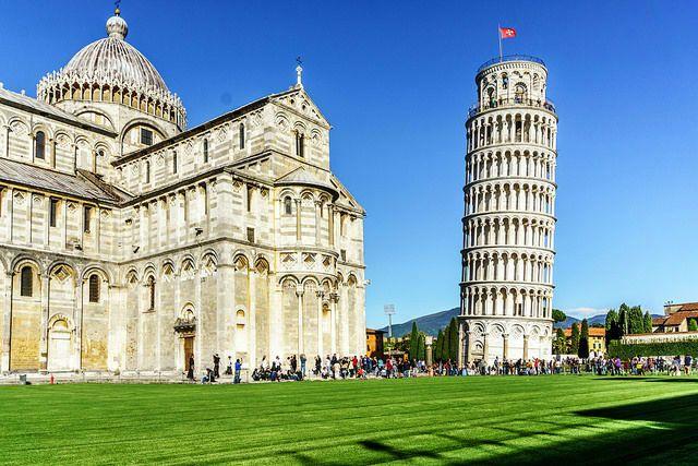 Наклонената кула в Пиза – история за една грешка - статия за Италия - Насам Натам
