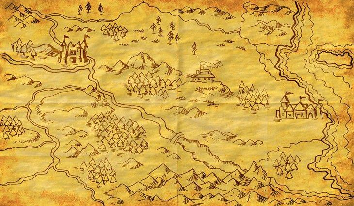 Creare una mappa fantasy: l'ispirazione è servita!