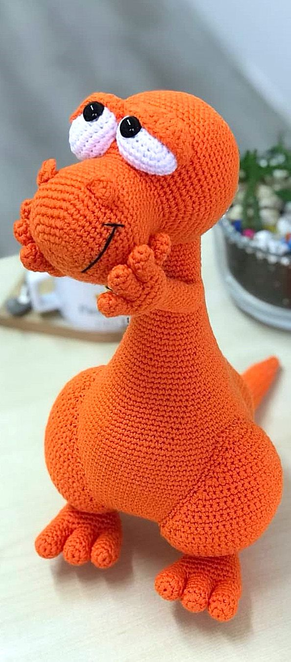 32 New Amigurumi Doll and Animal Pattern Ideas. Crochet Dinosaur Toy. Web Page 28 of 32