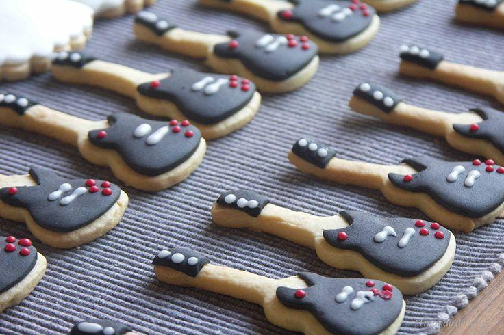 galletas guitarra