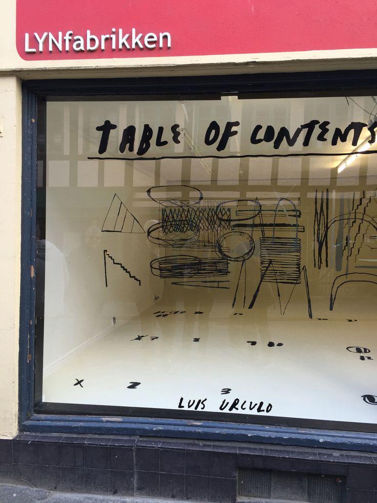 #BOX 'Table of contents' #luisurculo #art #design
