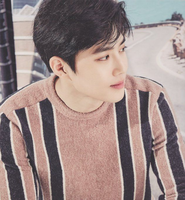 Suho, he is such a handsome guy