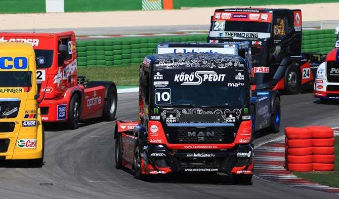 racing semi trucks