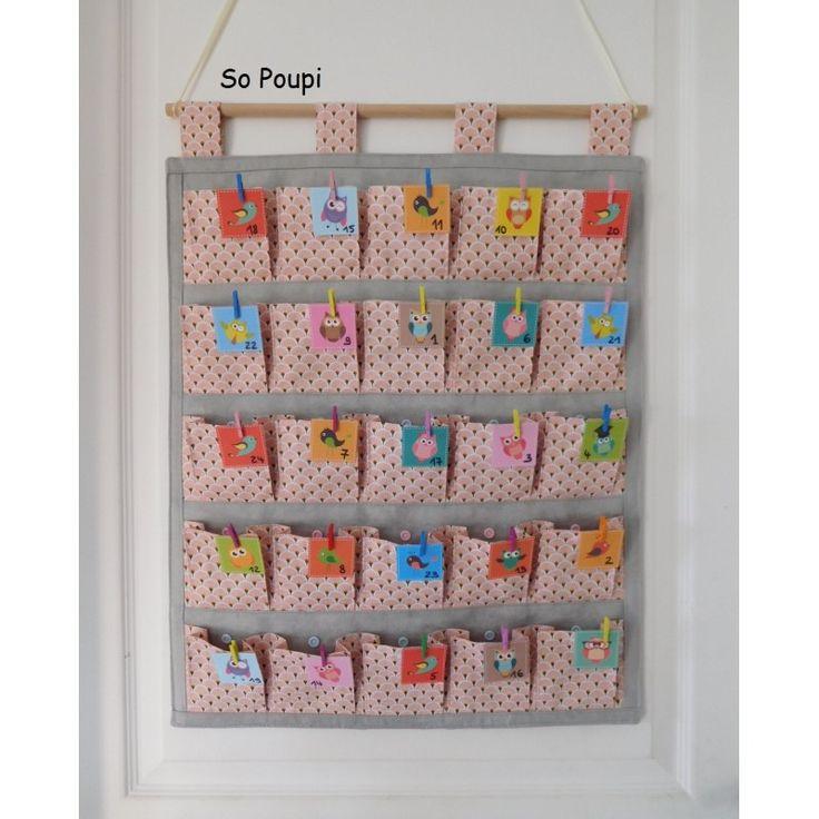 best 25 calendrier de l 39 avent en tissu ideas on pinterest. Black Bedroom Furniture Sets. Home Design Ideas