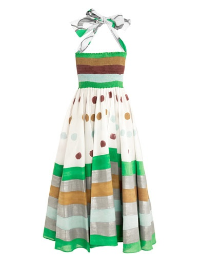 EASTON PEARSON TAKE AWAY Contini hand painted dress $595 http://shopatcrystalbeach.com/EASTON-PEARSON-TAKE-AWAY-Contini-hand-painted-dress-595-ESTPRShpdr.htm