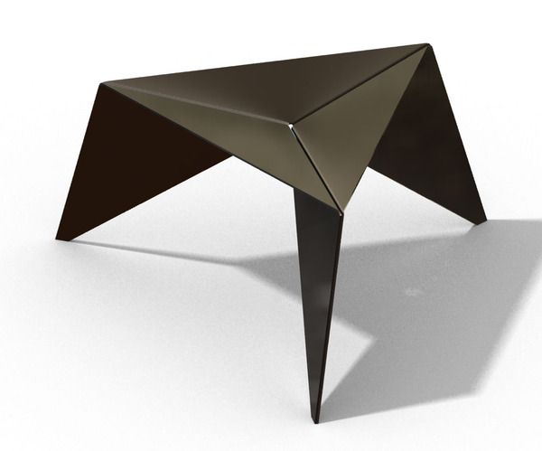Best 25 Triangle Coffee Table Ideas On Pinterest