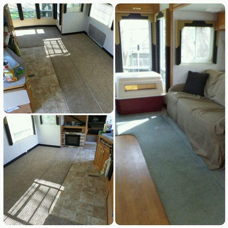 Remodel Of A Travel Trailer
