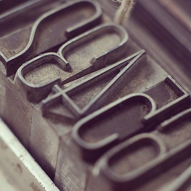 Neon type metal by Nebiolo Foundry. Used for a perpetual calendar, only type metal + letterpress. Limited edition of 50 pcs. Soon available. Stay tuned (or contact me if you want to book one).