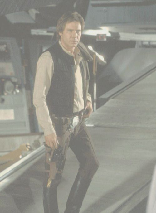 "Harrison Ford ""Han Solo"" Return of the Jedi retrostarwarsstrikesback"