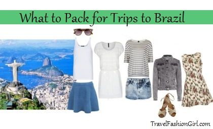 What to Pack for Trips to Brazil: Packing List and Fashion Tips for all seasons
