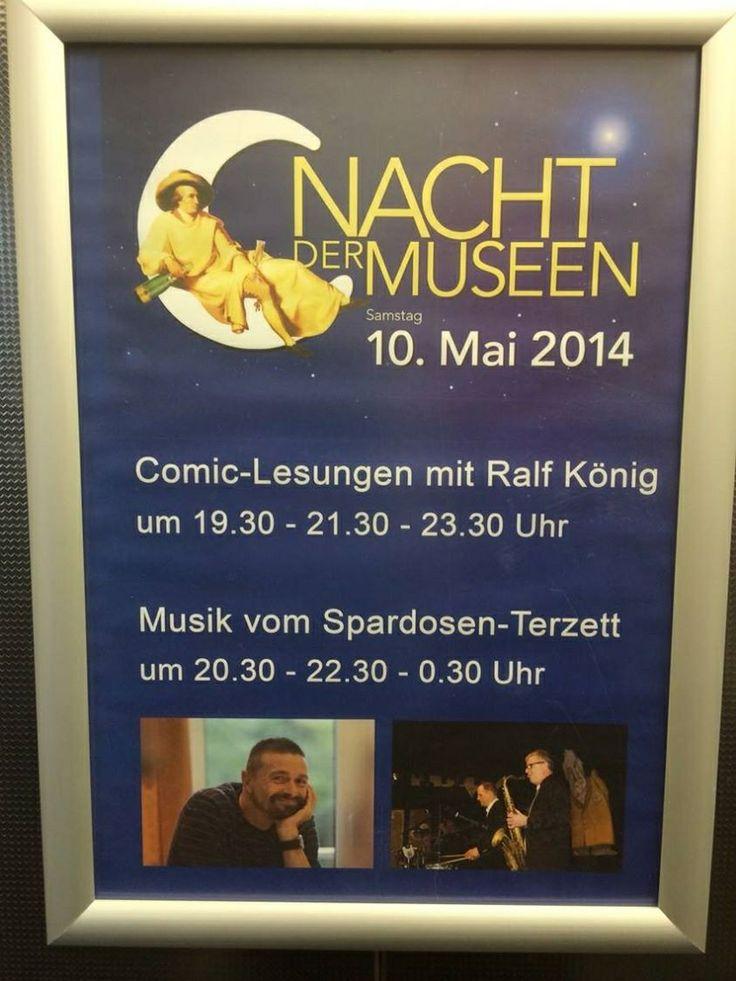 Bitte vormerken! Nacht der Museen in Frankfurt!