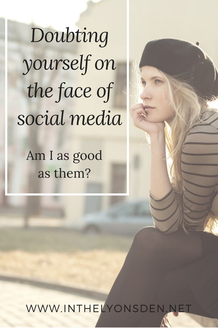 Judging yourself on social media is something we all do. How do we stop comparing?