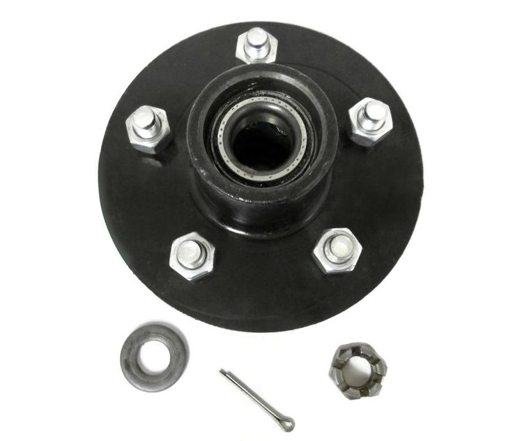 DICO Boat Trailer Hub 45264 Shoreland'r 5-Lug 5 on 4.5 Preloaded 3500 LB NOS #DICO #45264 #BoatTrailer #TrailerHub #Trailer #Hub #5on4.5 #5Lug #5Stud #TinkenBearings #Shorelander #Shoreland'r  #boating #MichiganFreshwaterMarine