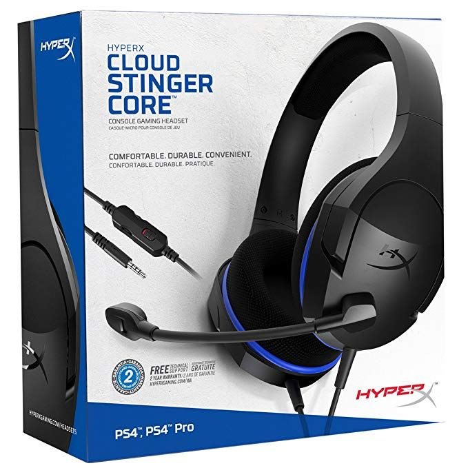 Hyperx Cloud Stinger Core Gaming Headset For Ps4 Playstation 4 Nintendo Switch Xbox One Headset Over Ear Wire Ps4 Headset Gaming Headset Xbox One Headset