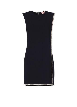 Ted Baker Burford jurk met overlay en strass