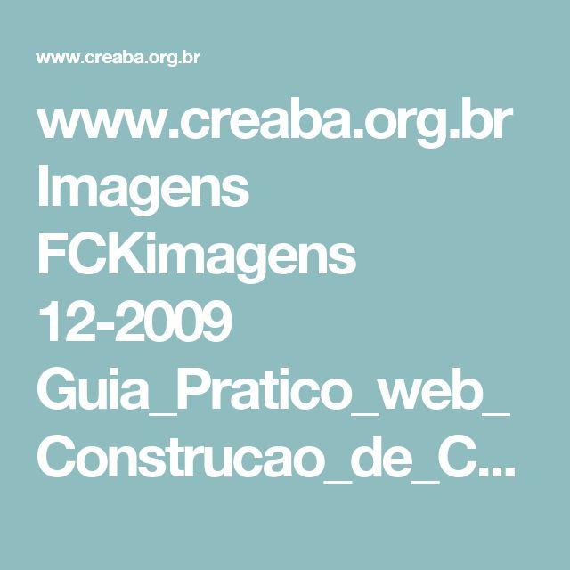 www.creaba.org.br Imagens FCKimagens 12-2009 Guia_Pratico_web_Construcao_de_Calcadas_CREA.pdf