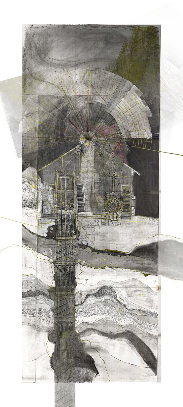 Drawing ARCHITECTURE | Jessica Luscher, Stillness and Motion : Wind...