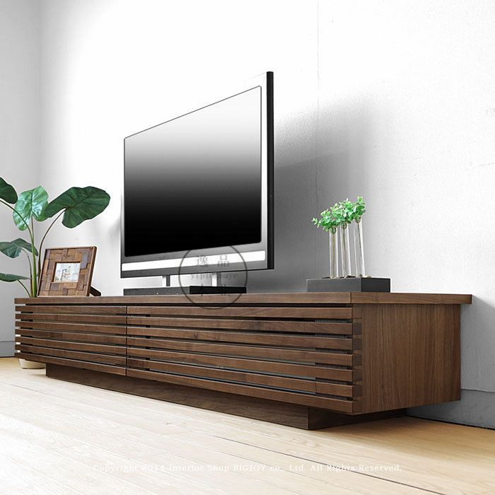 Japanese-style furniture, white oak TV cabinet coffee table combination  minimalist modern Scandinavian style