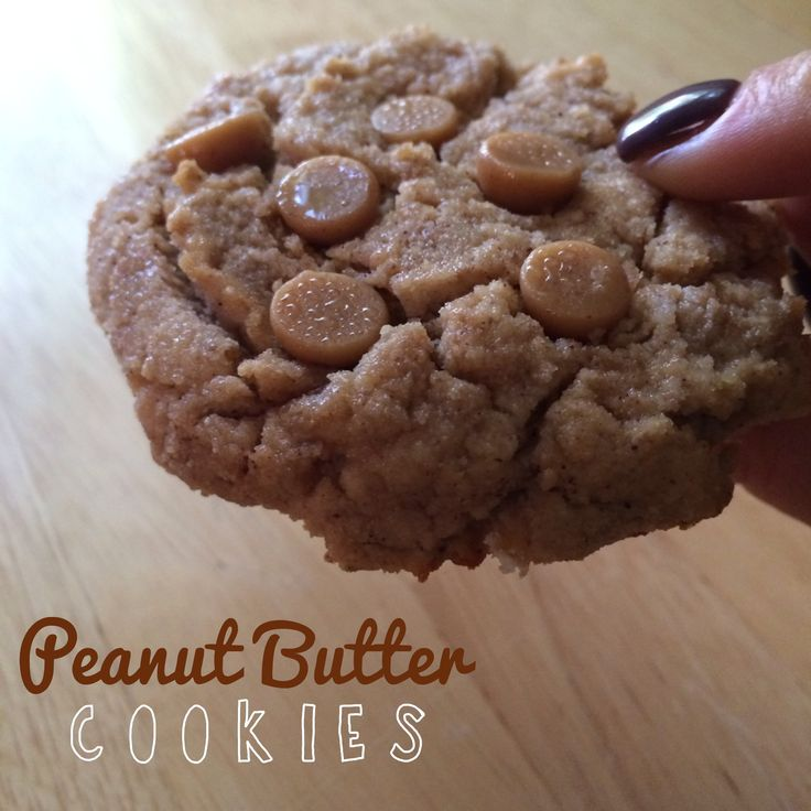 Peanut Butter Cookies: These are mostly protein cookies because they ...
