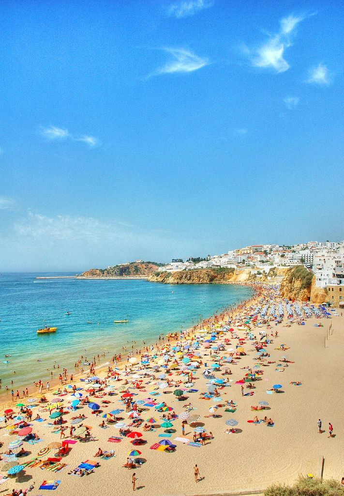 Albufeira, Algarve | Portugal (by CGoulao)    kThis post has 106 notes   tThis was posted 5 hours ago  zThis has been tagged with Albufeira, Algarve, Portugal, beach, praia, sun, sand, village, sea, mar, atlantic, landscape,   RHttp://travelingcolors.tumblr.com