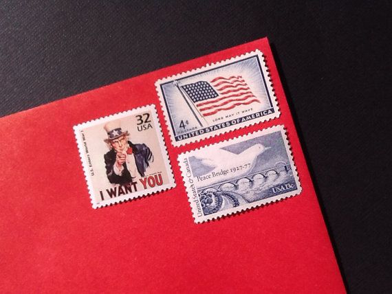 Military Letter Stamps Basic Training Unused Postage by NinasArena, $15.00
