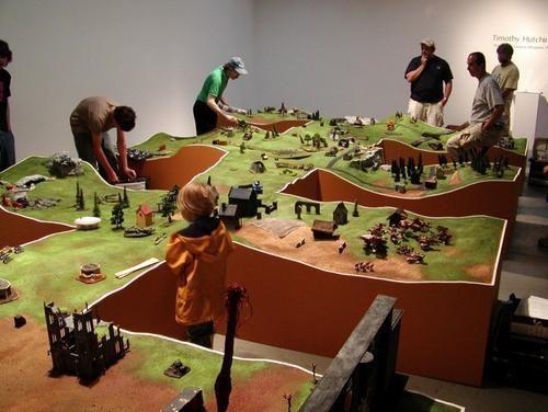 Warhammer Fantasy Miniatures Gallery: Presenting Beautiful Battlefields ! | interesting wargames stuff | Pinterest | Miniatures, Wargaming terrain and Fantasy …
