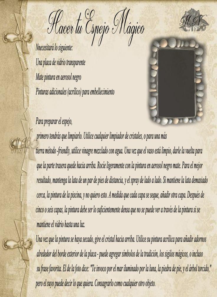 Trastos de Bruja: Espejo Mágico