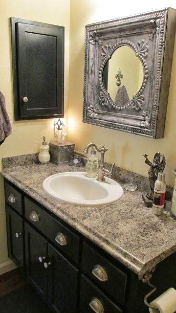 17 best images about maison blanche paint on pinterest dark wax furniture and wrought iron for Wrought iron bathroom furniture