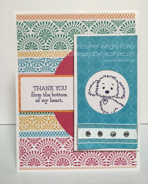 Hand Stamped By Heather Wright-Porto: Stampin' Up! Bella & Friends