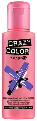 coloration crazy color lilac teinture lila cheveux semi permanente pour une - Coloration Cheveux Semi Permanente