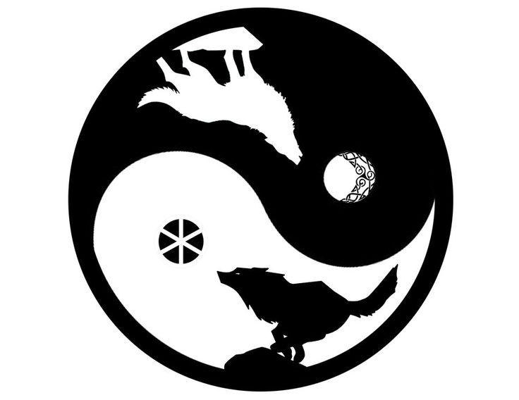 Skoll y Hati by go-daigo.deviantart.com on @deviantART