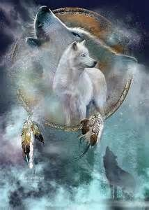 unique wolf paintings - yahoo Image Search Results