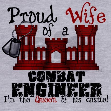 Proud Wife of a Combat Engine Zip Hoodie on CafePress.com