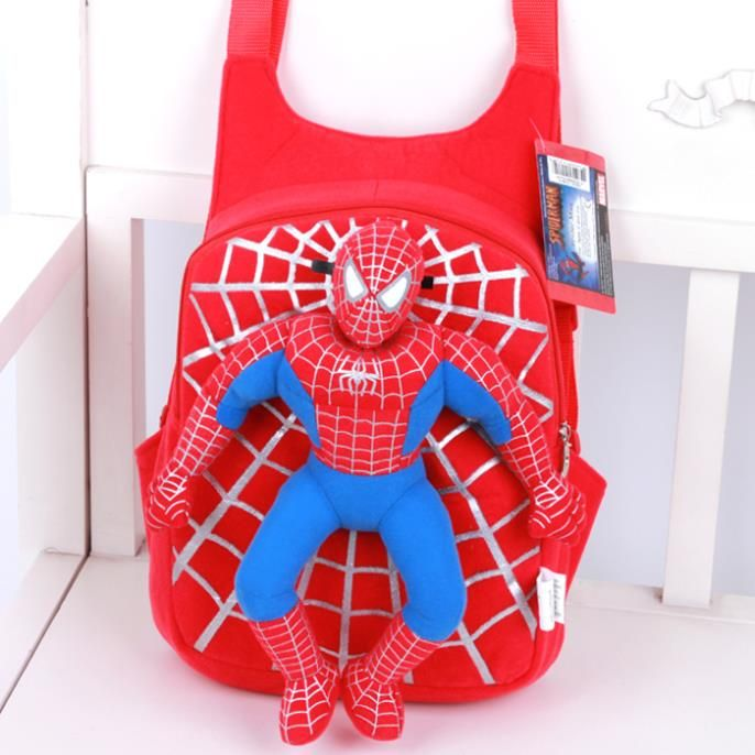 Plush Cartoon School Bags For Girls Cute Bear Spiderman at this Price: $ 17.89 & FREE Shipping    https://fansofspiderman.com/plush-cartoon-school-bags-for-girls-cute-bear-spiderman/    Follow Us On Instagram :   #FansOfSpiderman  @FansOfSpiderman
