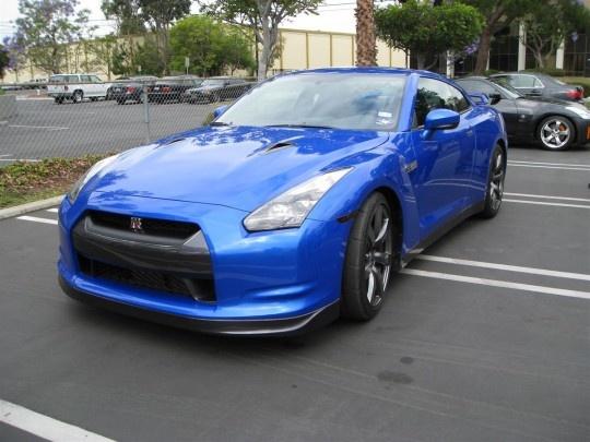 R35 GT-R Bayside Blue!