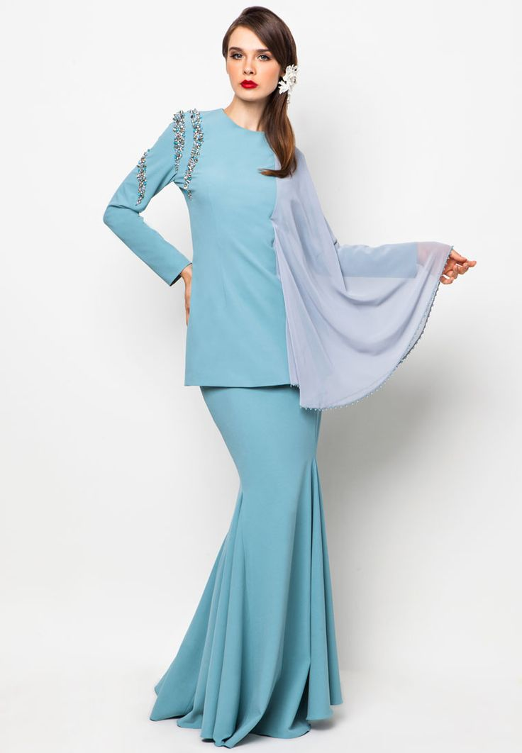 Gaya Terbaru 54+ Zalora Baju Kurung Modern