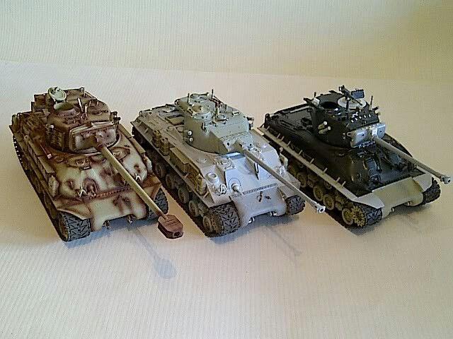 ISRAELI M51, M50, M1 late, Sherman conversions wip