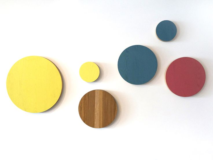 Disco wall hanging by Studio Brovhn. Solid ash or oak. Lacquer and natural stained finishes. www.studiobrovhn.com #studiobrovhn #wood #accessory